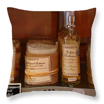 Throw Pillow featuring the photograph French Scent by Richard Patmore