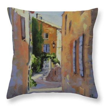 French Street Throw Pillow