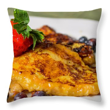 Throw Pillow featuring the photograph French Toast by Ryan Smith