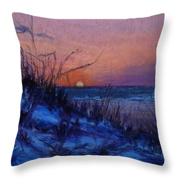 Frenchy's Sunset Throw Pillow