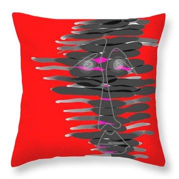 Frenzy Throw Pillow