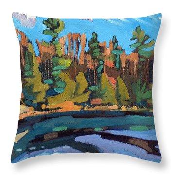 Fresh Air Throw Pillow by Phil Chadwick