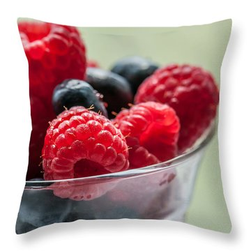 Fresh And Yummy Throw Pillow