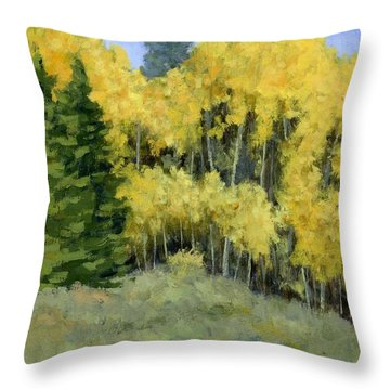 Fresh Autumn Air Throw Pillow