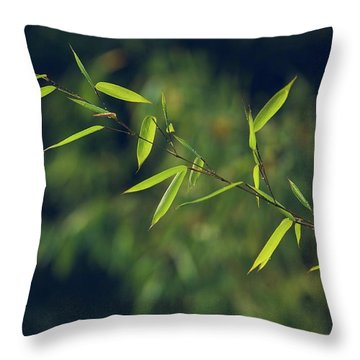 Stem Throw Pillow
