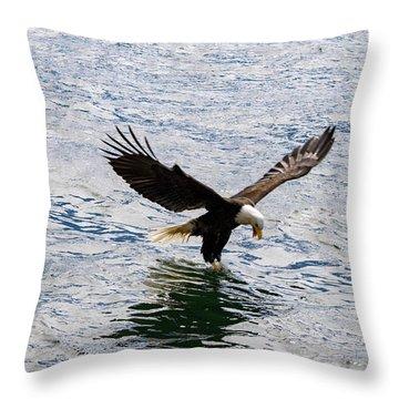 Fresh Catch Throw Pillow