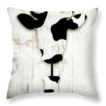 Fresh Dairy Throw Pillow