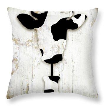 Fresh Dairy Throw Pillow