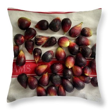 Fresh Figs Throw Pillow