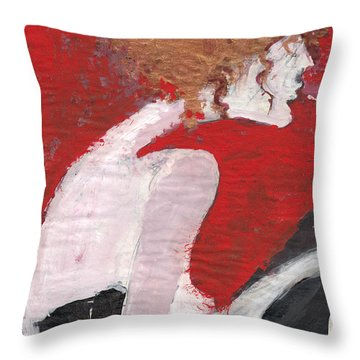 Fresh Flesh Throw Pillow