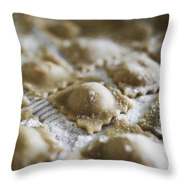Fresh Homemade Italian Pasta  Throw Pillow
