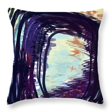 Fresh Lines Throw Pillow by Constance Krejci