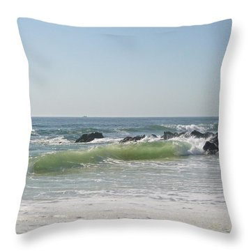 Fresh May Morning Throw Pillow