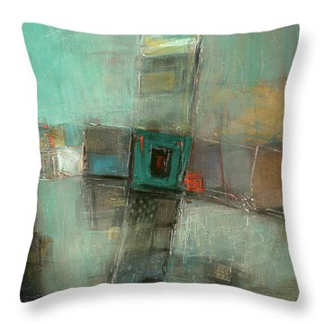 Fresh Pattern Throw Pillow by Behzad Sohrabi
