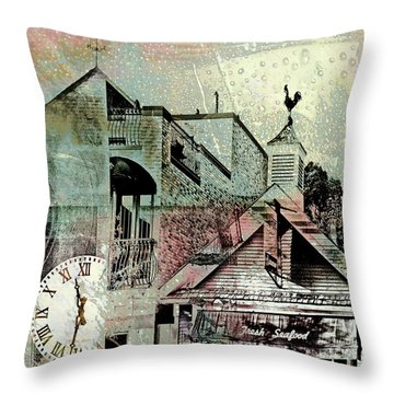 Throw Pillow featuring the photograph Fresh Seafood by Susan Stone