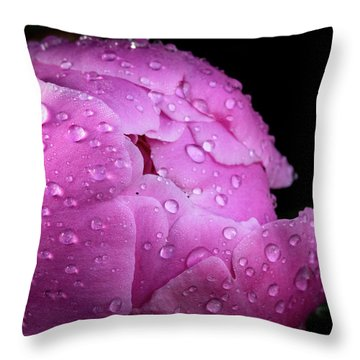 Freshly Rinsed Throw Pillow