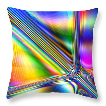 Freshly Squeezed Throw Pillow by Andreas Thust