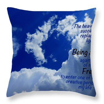 Freshness Throw Pillow