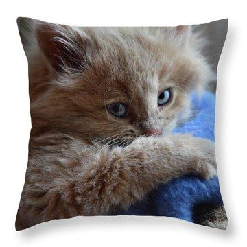 Freya #1 Throw Pillow