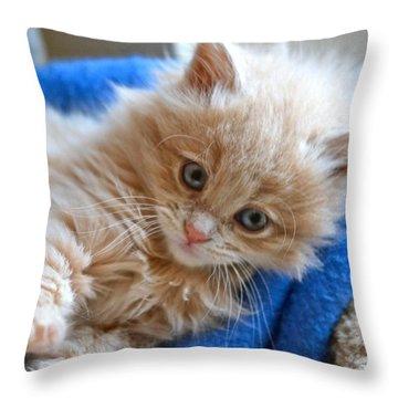 Freya #2 Throw Pillow