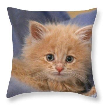 Freya #3 Throw Pillow