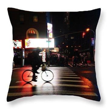 Fridays Nyc Throw Pillow