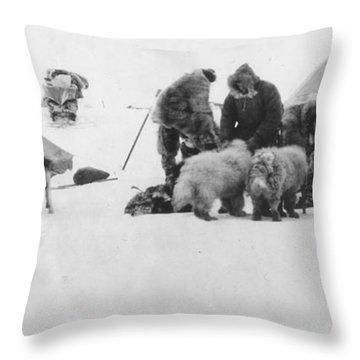 Fridtjof Nansen (1861-1930) Throw Pillow by Granger
