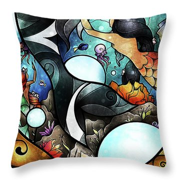 Friend Of The Maidens Throw Pillow