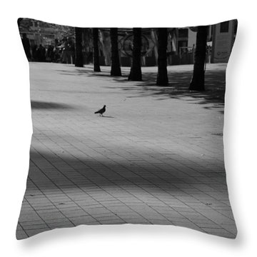Friend Or Foe Throw Pillow