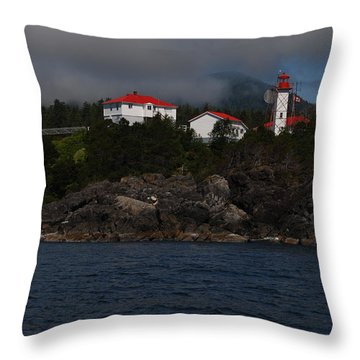 Friendly Cove #1 Throw Pillow