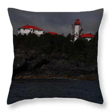 Friendly Cove #2 Throw Pillow