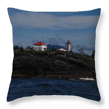 Friendly Cove #3 Throw Pillow