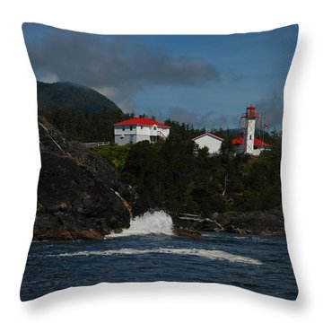 Friendly Cove #4 Throw Pillow