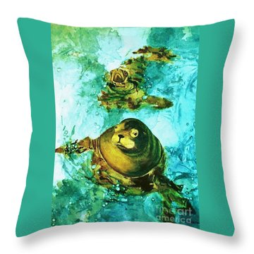 Friendly Persuasion Throw Pillow