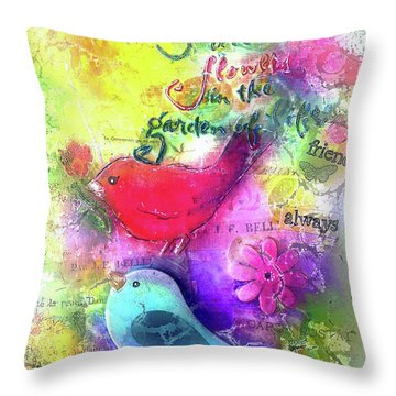 Friends Always Throw Pillow