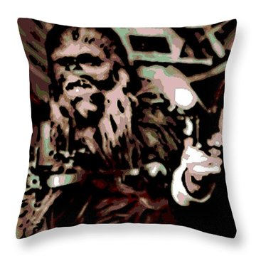 Friends Throw Pillow by George Pedro