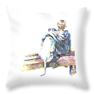 Friends 'til The End Throw Pillow
