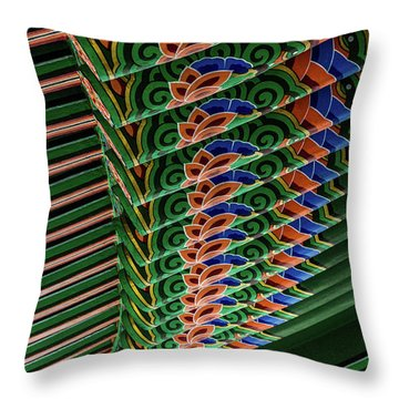 Friendship Bell Throw Pillow