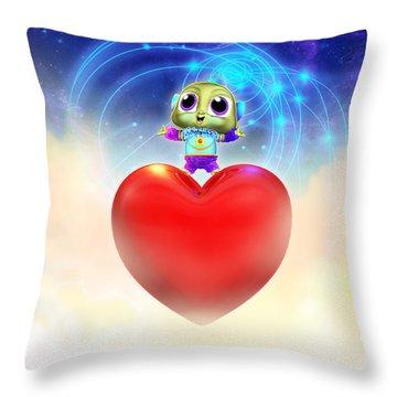 Frienliens 5 Destiny Movie Poster Throw Pillow