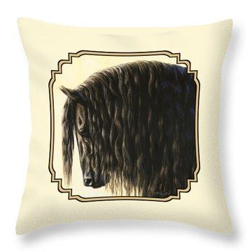 Long Mane Throw Pillows