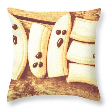 Fright Of The Healthy Dead Throw Pillow