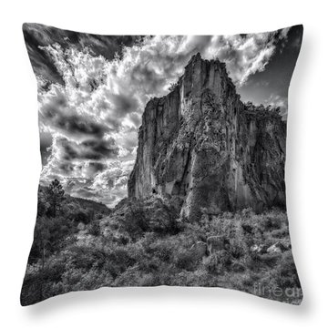 Frijoles Canyon Throw Pillow