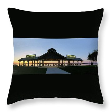 Frink Park Clayton Throw Pillow
