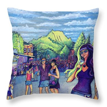 Frisco Bbq Festival 2017 Throw Pillow