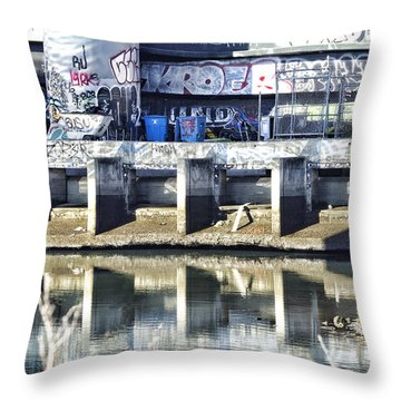 Frisco  Graffiti Throw Pillow