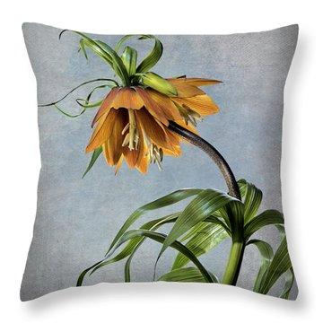 Frittelaria Imperialis Throw Pillow