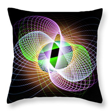 Frog Eye Throw Pillow