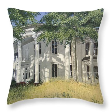 From A By-gone Era Throw Pillow by Peter Muzyka
