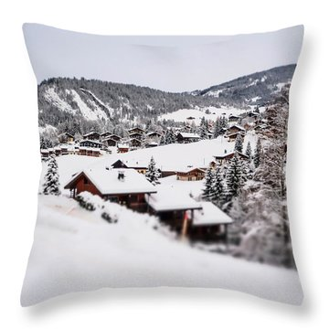 From A Distance- Throw Pillow