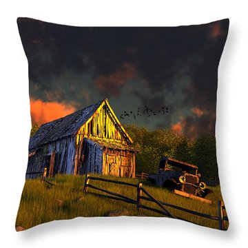 From A Distant Time Throw Pillow
